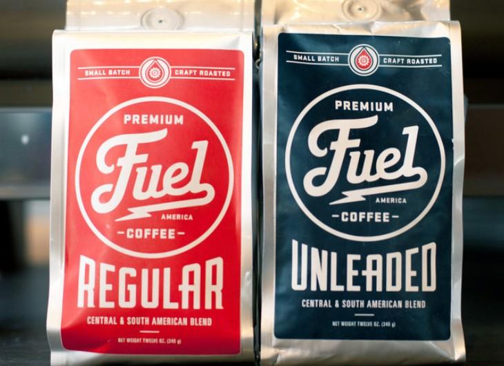 品牌设计欣赏 FUEL咖啡店