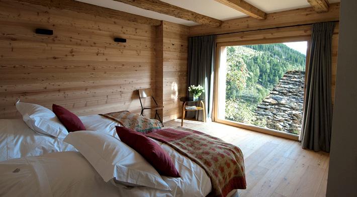 空间设计-欧洲旅行篇之瑞士小屋酒店