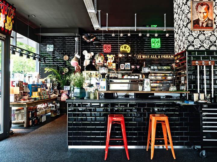 杜塞尔多夫城里特色店-空间设计