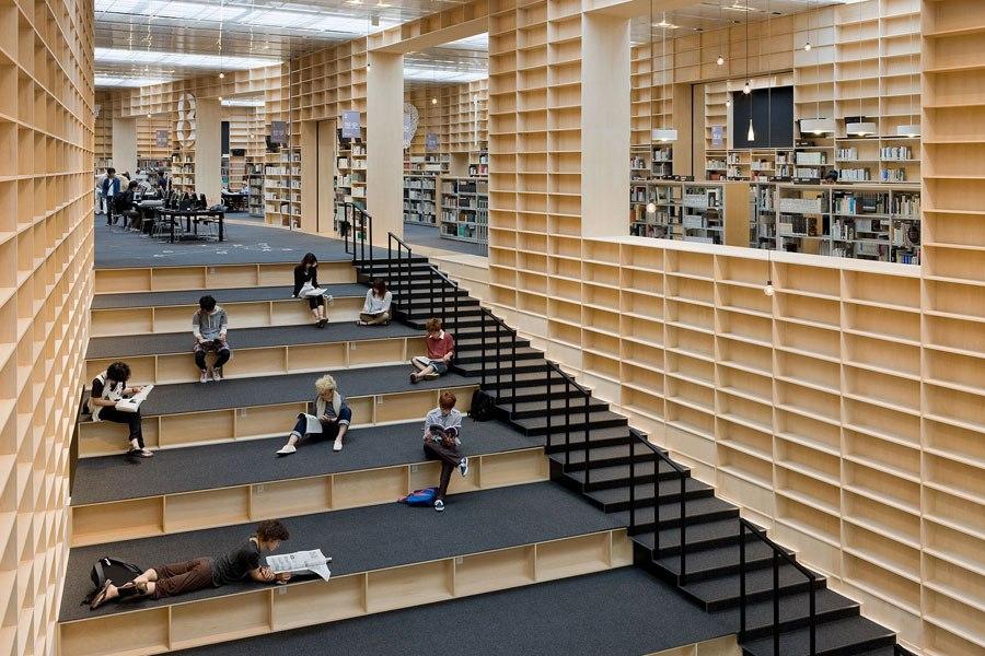文明的进程,世界各地壮观的图书馆集合