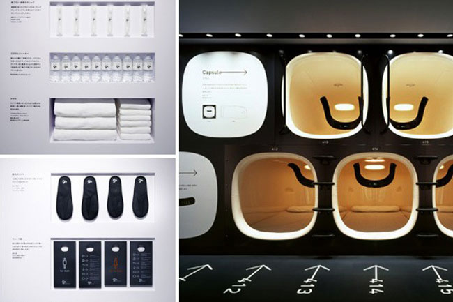 9H胶囊酒店-空间设计