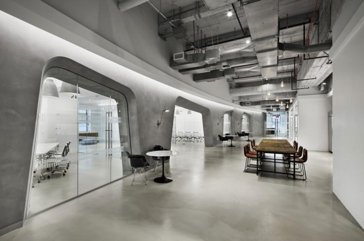 空间设计,SOHO LOFT混搭旧工业风格