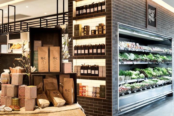 有机食品零售店,活跃的小产业链