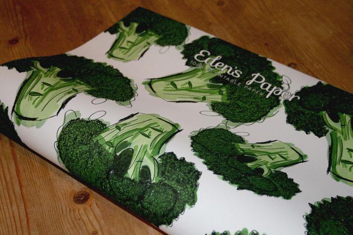 废纸变植物,超级环保的创意设计