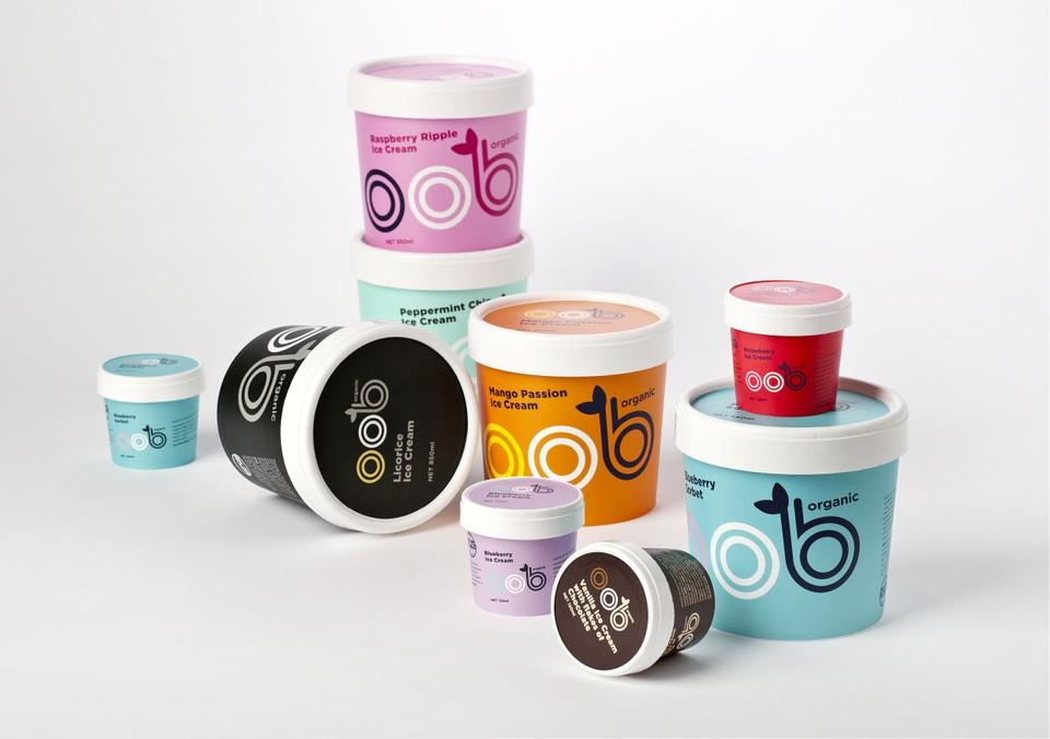 冰淇淋品牌包装设计
