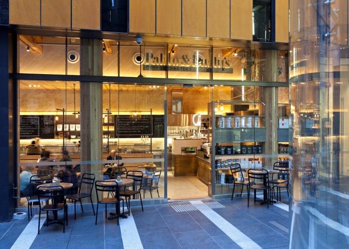 专卖店设计,悉尼的咖啡店