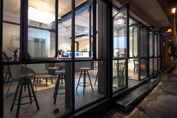 首尔南洞灵山区咖啡店空间设计
