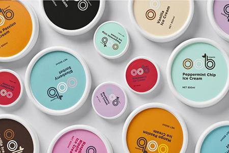 冰淇淋品牌包装设计赏析