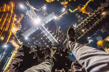 俄罗斯攀高达人,挑战地球的制高点