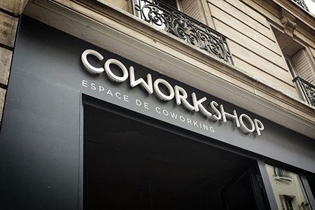 空间设计- Coworkshop in Paris