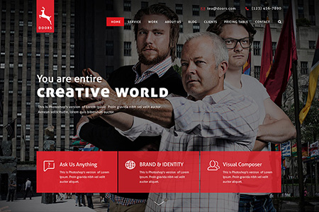 Brand Website Design