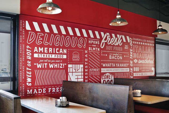 VI设计-快餐餐厅形象