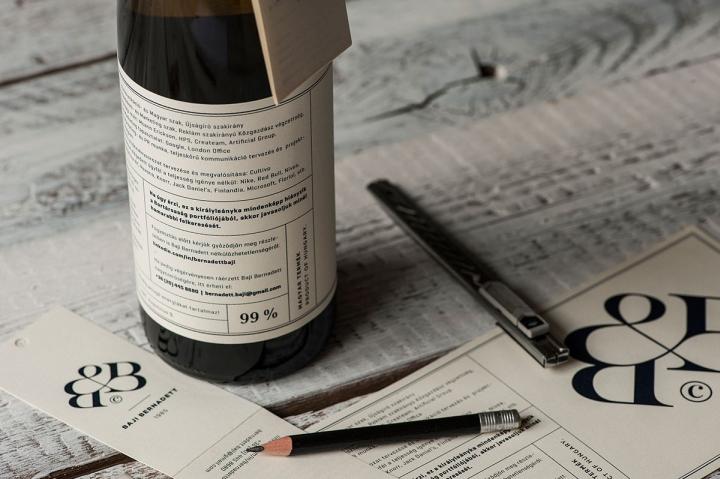 葡萄酒酒标设计