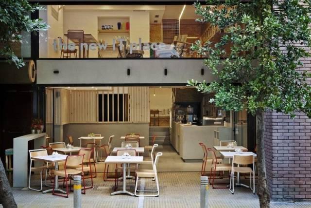原生态风格咖啡店