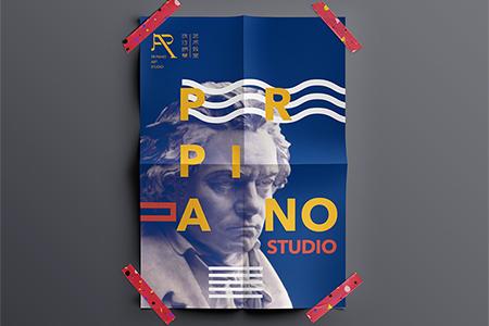 珠江钢琴艺术教室/品牌设计